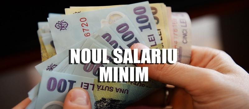Cati bani ofera banca la salariu minim pe economie